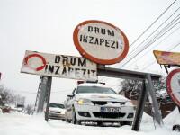 Traficul rutier e blocat pe DN17A Campulung Moldovenesc - Sucevita din cauza vremii