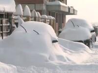 Cea mai stupida masura din aceasta iarna. Un primar vrea sa ridice masinile inzapezite din parcare
