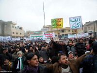 Activisti: Trupele siriene au deschis focul asupra unei procesiuni funerare in Damasc