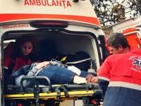 Gorj: O camioneta s-a prabusit intr-o rapa. Sase persoane duse la spital, doua sunt in stare grava