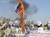 Manifestatii violente impotriva SUA in Afganistan, dupa ce americanii au ars exemplare din Coran