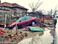 Peste 33.000 de case din Romania, in pericol, daca zapada s-ar topi brusc. Avertismentele PAID