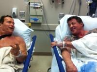 Adevarul despre poza cu Stallone pe patul de spital. Ce vedeta de la Hollywood l-a trimis acolo