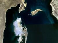 FOTO. Dezastrul,vazut din satelit. Cum arata gaura de 68.000 de km patrati provocata de rusi in Asia