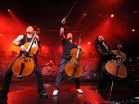 Concert Apocalyptica la Romanian Rock Meeting 2012