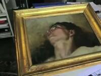 Comoara care se ascundea intr-un tablou cumparat de un barbat cu 1200 de lire