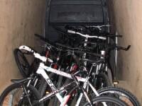 Trei tineri, dintre care doi minori de 14 ani, au furat 8 biciclete
