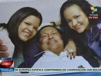 Guvernul din Venezuela a difuzat primele imagini cu Hugo Chavez pe patul de spital