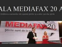 Raed Arafat, Martin Harris, Lucian Boia, Alexandru Tomescu - printre laureatii Galei MEDIAFAX 2013
