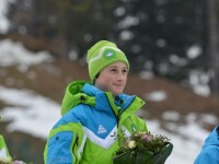 Record la sarituri cu schiurile: Slovenia a luat aurul dupa ce Prevc Cene a sarit 99 de metri