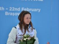 Dorottya Buzas a adus a treia medalie Romaniei. A castigat argintul la cursa de Biatlon Sprint