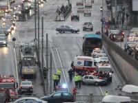 Trei persoane ranite intr-un accident in Pasajul Victoriei din Capitala