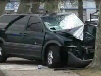 Tragedie pe soseaua dintre Baia Mare si Satu Mare: 4 oameni morti si un copil ranit intr-un accident
