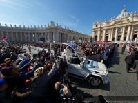 Imaginea zilei. Cum se vede intr-un GIGAPIXEL ultima audienta publica a Papei Benedict al XVI-lea