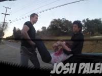 O farsa de zile mari. Un tanar american a fost luat cu masina de un strain si a avut parte de cursa vietii sale. VIDEO