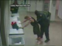 Primele imagini cu Justin Bieber in sectia de politie in timp ce e perchezitionat au fost facute publice de autoritati