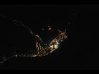 E atat de mare incat poate fi vazuta din spatiu. Cum arata flacara olimpica de la Soci, fotografiata de NASA