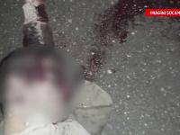 Mutilat dupa ce a fost legat si tarat cateva sute de metri de o masina. Prima ipoteza a anchetatorilor