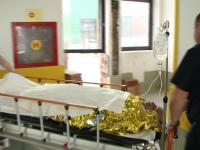 TIMIS: Un muncitor a ajuns la spital cu arsuri la fata si maini, in urma unei explozii produse la Parcul de Gaze din Partos