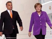 Replici tensionate intre Viktor Orban si Angela Merkel: