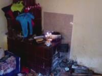 Clipe grele in Valcea, unde sunt inmormantati mama si cei 6 copii morti dupa ce s-au intoxicat cu monoxid de carbon