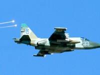 Rebelii prorusi au anuntat ca au doborat un avion de vanatoare ucrainean in Lugansk