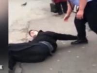 Conflict violent intre un sofer de autobuz si un pasager. Motivul din cauza caruia a pornit bataia