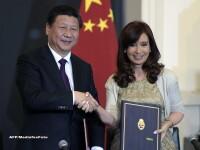 Presedintele Argentinei a ras de chinezi chiar in timpul unei vizite in China: \