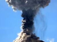 Aer contaminat in Guatemala, dupa eruptia vulcanului Fuego. Aeroportul din capitala a fost inchis. VIDEO
