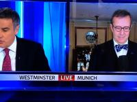 Un prezentator TV din Marea Britanie i-a gresit numele presedintelui Estoniei. Reactia neasteptata a demnitarului