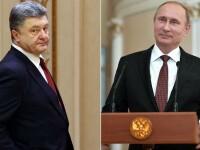 Presa rusa: Porosenko i-a OFERIT lui Putin regiunea Donbas, dar presedintele rus a refuzat. Reactia Ucrainei