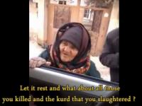 Femeia care i-a criticat fara nicio frica pe militantii SI.