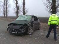 O persoana ranita, dupa ce masina cu care circula a derapat si a cazut intr-o prapastie, pe DN1