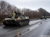 Un voluntar si un angajat al fiscului, ucisi in Ucraina. Masina lor a trecut peste o mina si a fost tinta unui lunetist