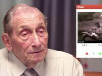 Experiment social. Cum reactioneaza femeile cand afla ca si-au dat intalnire cu un pensionar, folosind Tinder. VIDEO