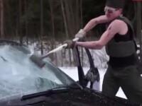 Cum s-a razbunat o tanara furioasa pe iubitul infidel, dupa ce l-a prins cu alta in masina. VIDEO