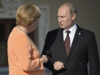 Merkel: Acordul de la Minsk, incalcat in mod constant. Porosenko sustine ca rebelii vor sa creeze un coridor catre Crimeea