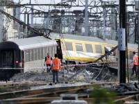 Accident feroviar in Elvetia. 49 de persoane au fost ranite, dupa ce doua trenuri au intrat in coliziune. FOTO