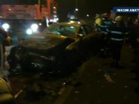 Taximetrist spulberat de un bolid de lux, in Cluj Napoca. Soferul tocmai iesise dintr-un club, iar dupa accident a fugit
