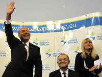 Basescu a vizitat-o pe Elena Udrea iar Boc pe Monica Iacob Ridzi. Mesajul fostului presedinte pentru Udrea