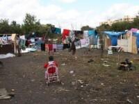 Autoritatile italiene au demolat o tabara de nomazi din Torino, evacuand 60 de romani de etnie rroma