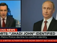 CNN si-a cerut scuze dupa ce a pus poza lui Vladimir Putin in timp ce dezvaluia identitatea Jihadistului John. VIDEO