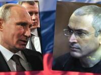 Fostul magnat Mihail Hodorkovski: Vladimir Putin doreste sa stabileasca soarta lumii la discutiile cu presedintele SUA