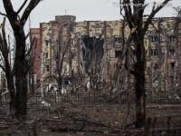 Apocalipsa din estul Ucrainei. Peisajul dezolant din Donetk aduce aminte de sfarsitul celui de-Al Doilea Razboi Mondial. FOTO