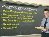 Se pregateste o noua schimbare in educatie. Matematica se uneste cu informatica, fizica si chimia devin \