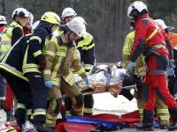 O romanca a fost ranita in tragedia feroviara din Germania. Marturia unui pasager despre momentul impactului nimicitor