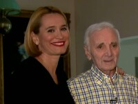 Prima amintire a marelui artist Charles Aznavour despre Romania. \