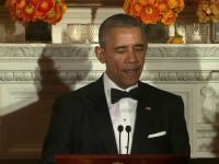 Mesajul codat transmis de Barack Obama la ultima cina cu guvernatorii: