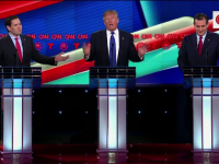 Dezbaterea dintre candidatii republicani, transformata intr-o cearta ca la usa cortului. Trump:
