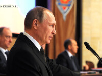 Mesajul lui Vladimir Putin pentru serviciile rusesti. Cate sute de spioni straini ar fi prins FSB in 2015